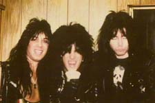 Rik Fox, Nikki Sixx, Blackie Lawless